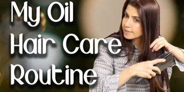 My Oil Hair Care Routine - Ghazal Siddique