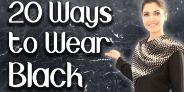 20 Ways to Wear a Black Outfit - Ghazal Siddique