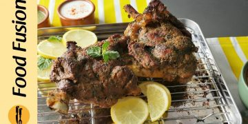 Podina Raan ( Mutton Leg)  Recipe By Food Fusion (Eid Special)