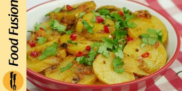 Balti Aloo (Potatoes)Recipe By Food Fusion