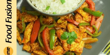 Chicken Jalfrezi Recipe By Food Fusion