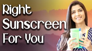 Right Sunscreen For You - Ghazal Siddique