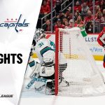 NHL Highlights | Sharks @ Capitals 1/5/20
