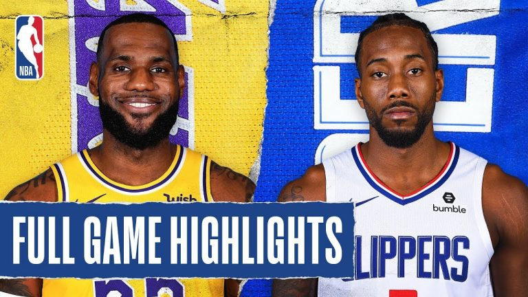 CLIPPERS at LAKERS | FULL GAME HIGHLIGHTS | December 25, 2019