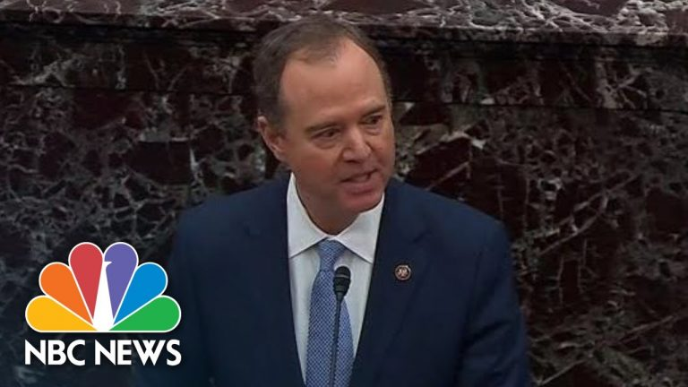 'Will There Be A Fair Trial?': Adam Schiff Argues Against Proposed Senate Rules | NBC News