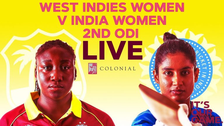 🔴LIVE West Indies Women vs India Women | 2nd Colonial Medical Insurance ODI 2019 1