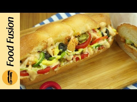 Cold Sandwich Recipe by Food Fusion