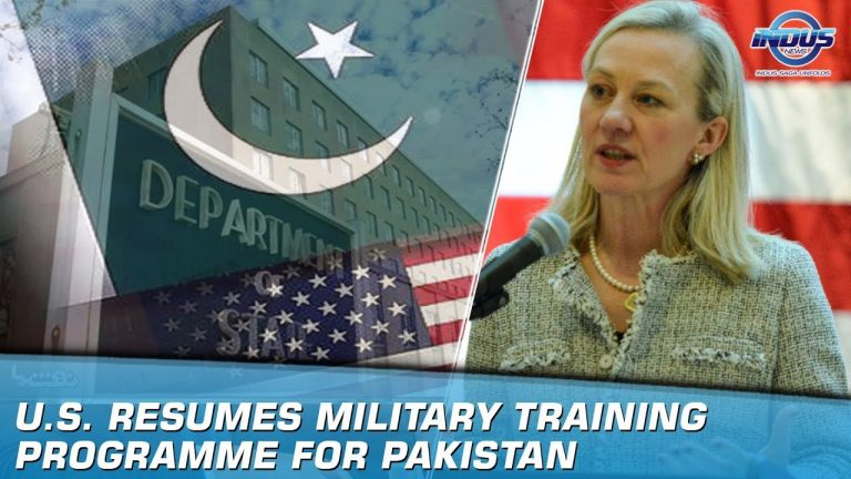 U.S. Resumes Military Training Programme For Pakistan | Indus News
