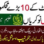 All Latest Government Jobs Today- Paper Jobs Pakistan 2020