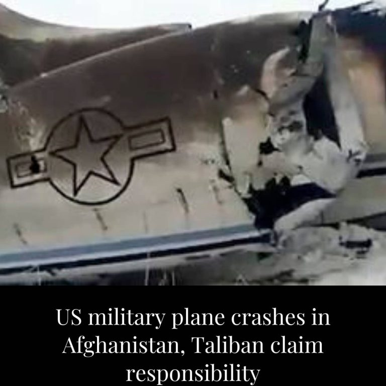 A plane, which United States officials described as a small US military aircraft... 3