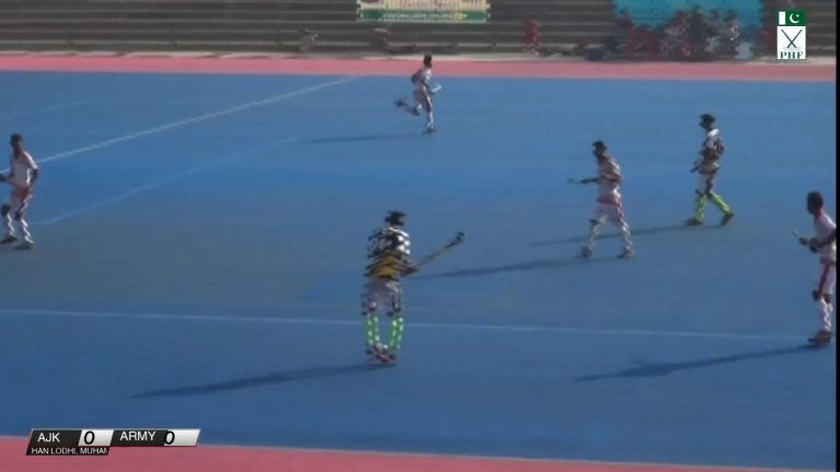 Day Three (3) 36th National Junior Hockey Championship AJK vs ARMY
