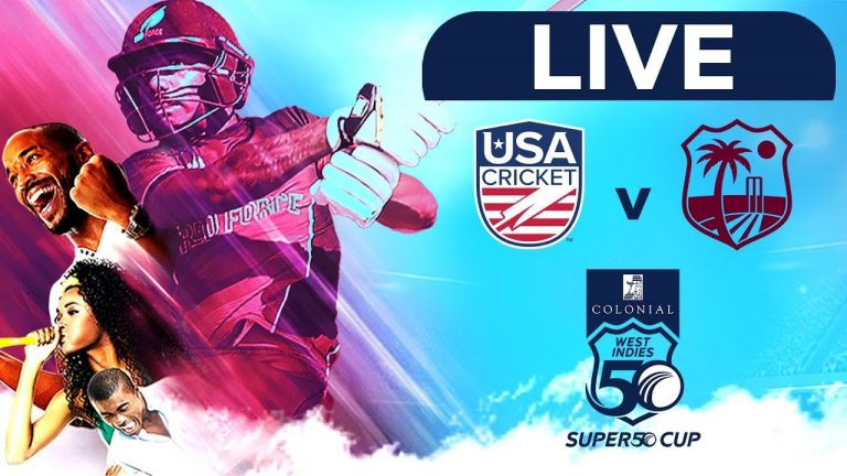 🔴LIVE USA vs West Indies Emerging Players | Colonial Medical Insurance Super50 Cup 1