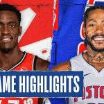 RAPTORS at PISTONS | FULL GAME HIGHLIGHTS | January 31, 2020