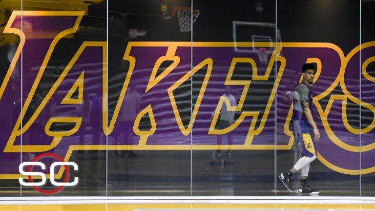 Lakers practice for first time since Kobe Bryant's death   SportsCenter with Stephen A. Smith