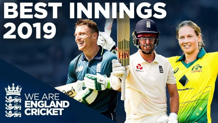 Best Innings Of 2019! | Double Centuries, 83* Off 29, Huge Sixes! | England Cricket 2019
