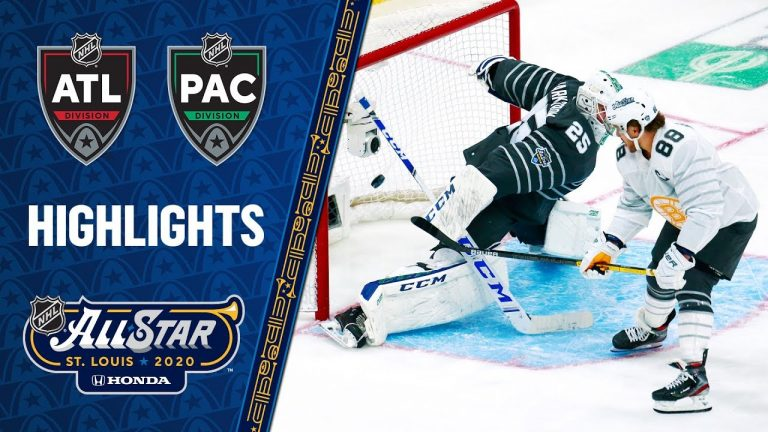 Pacific defeats Atlantic in final to win 2020 NHL All Star Game
