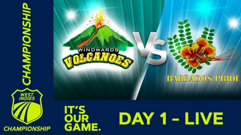 🔴LIVE Windwards vs Barbados - Day 1 | West Indies Championship | Thursday 9th January 2020 1