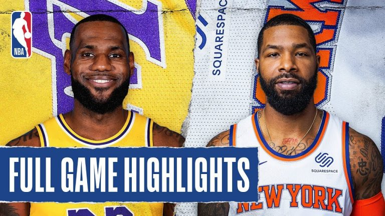 LAKERS at KNICKS | FULL GAME HIGHLIGHTS | January 22, 2020