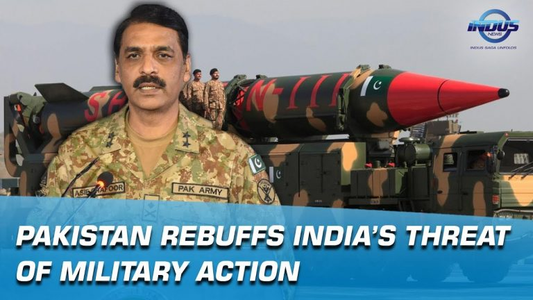 Pakistan rebuffs India's threat of Military action   Indus News