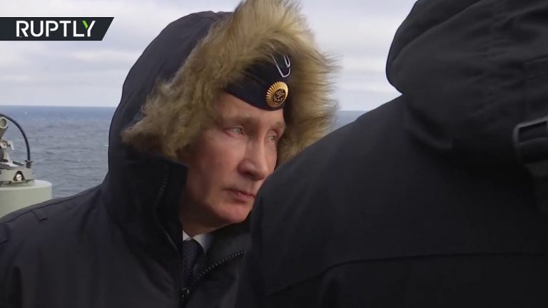 Putin oversees hypersonic missile test in Black Sea