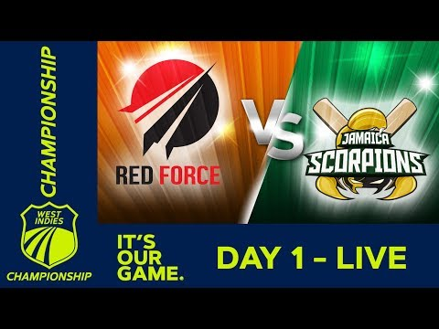🔴LIVE Trinidad vs Jamaica - Day 1 | West Indies Championship | Thursday 9th January 2020 1
