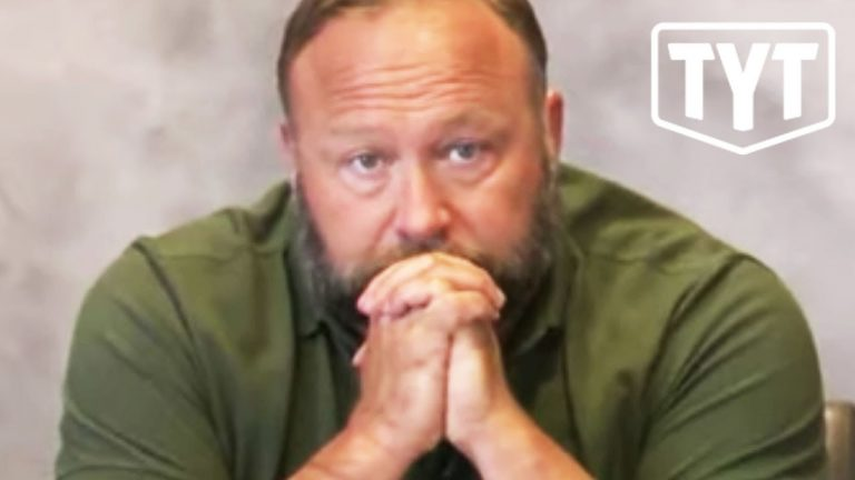 The Moment Alex Jones Realized It Was Over