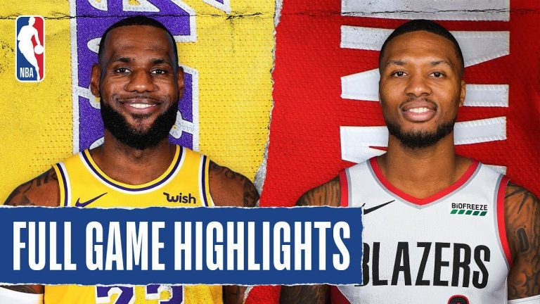 LAKERS at TRAIL BLAZERS   FULL GAME HIGHLIGHTS    December 28, 2019