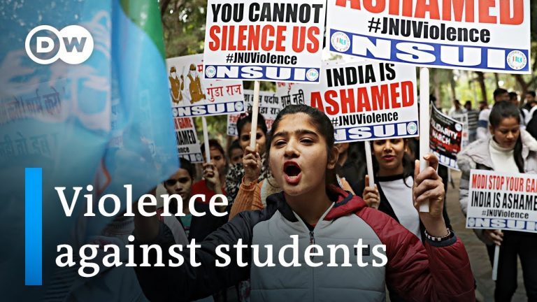 Outrage over attacks on students in India | DW News