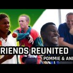 ICC U19 CWC: Pommie Mbangwa and Andy Flower reminisce over their playing days together