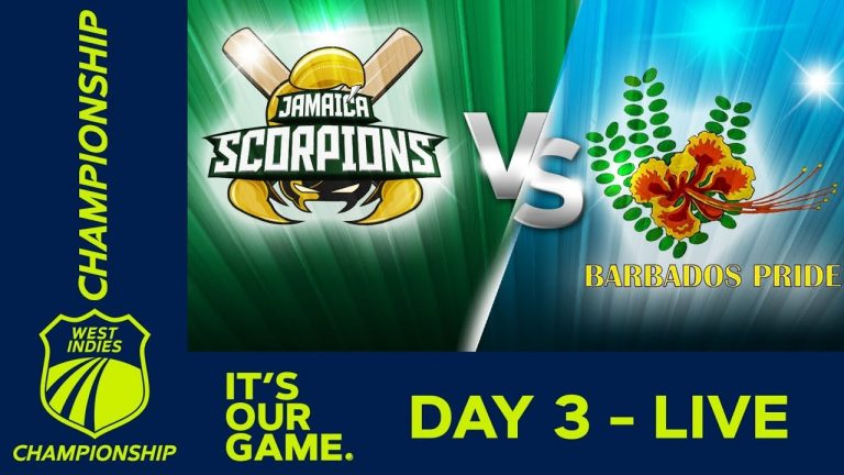 🔴LIVE Jamaica vs Barbados - Day 3 | West Indies Championship | Saturday 25th January 2020 1