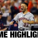Jose Altuve, Astros take World Series Game 3 in DC, 4-1   Astros-Nationals MLB Highlights