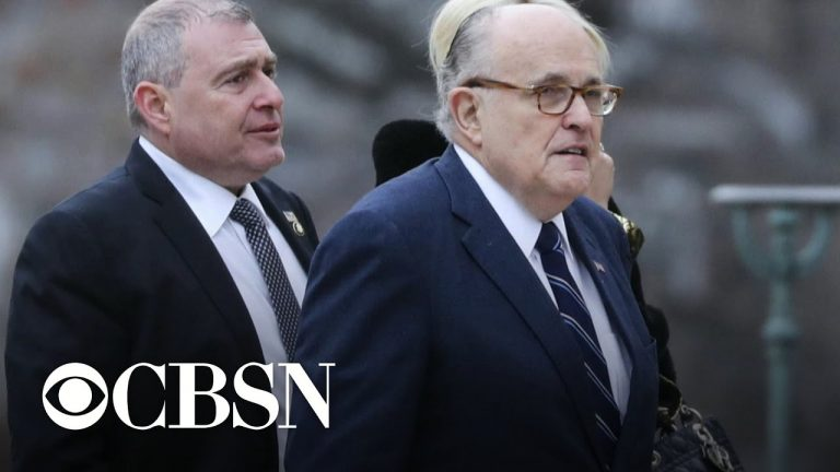Giuliani denies knowing Parnas and Fruman at time of 2018 video