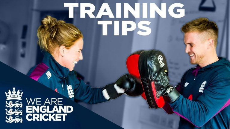 Train and Eat Like England's Best!   Batting, Keeping, and Nutrition Tips   Vitality Fit 4 Cricket