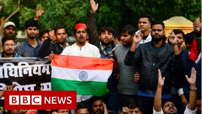 The Citizenship law causing nationwide protests in India - BBC News