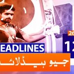 Geo Headlines 12 AM | 26th January 2020