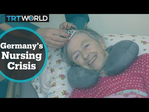Germany faces critical shortage of healthcare personnel for the elderly