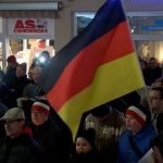 Anti-immigration rally in Germany after Christmas Eve stabbing