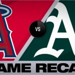 7-run 7th powers A's past Angels   Angels-Athletics Game Highlights 9/5/19