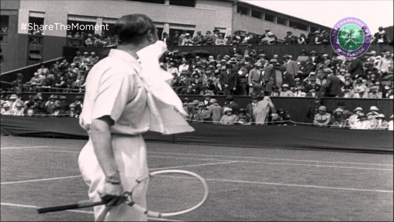 Share the Moment: King George VI competes at Wimbledon