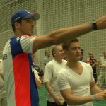 England team hold coaching session for NatWest Cricket Club members