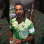 Muhammad Irfan video message describing strategy against India. & daily allowance issue