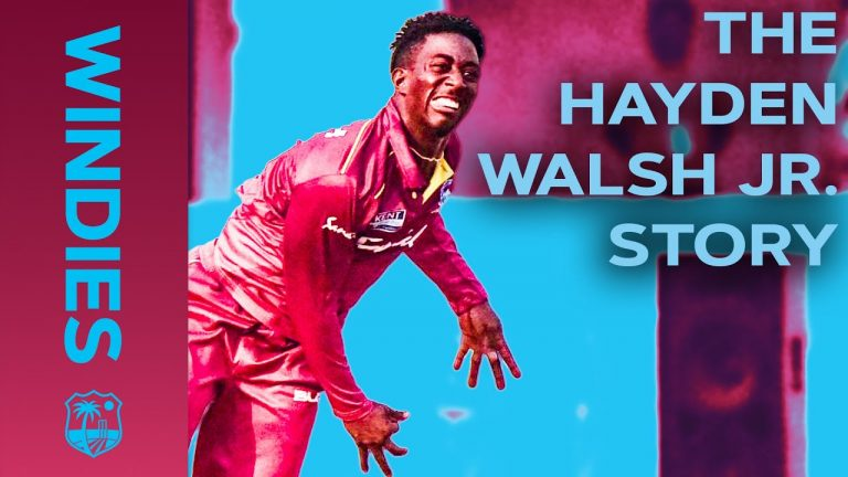 Ready To Take On India | The Hayden Walsh Jr. Story | Windies Finest
