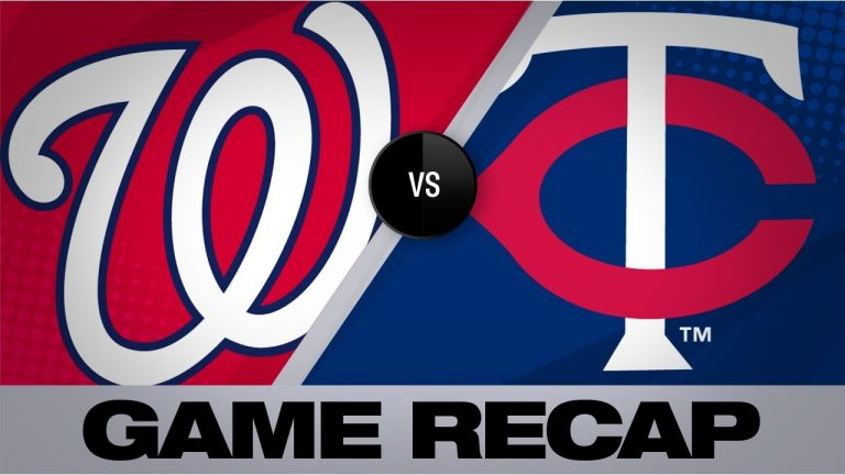 Nats blast 4 HRs to take series vs. Twins | Nationals-Twins Game Highlights 9/12/19