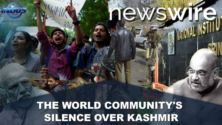 The World Community's Silence over Kashmir | News Wire | Indus News