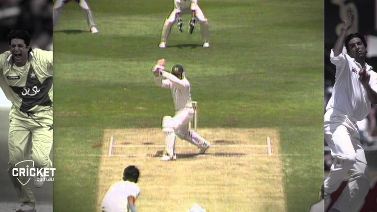 From the Vault: Scary Akram baffles Aussies