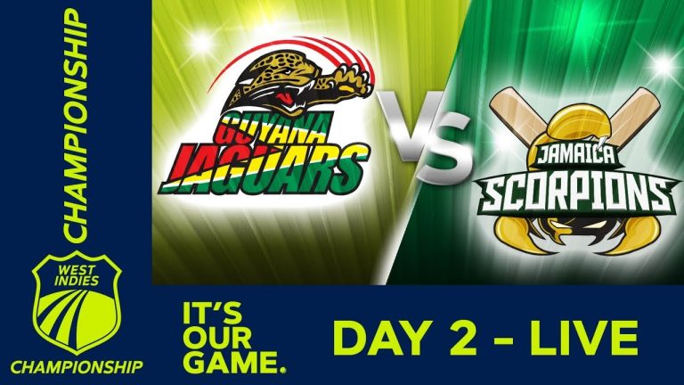Guyana v Jamaica - Day 2 | West Indies Championship | Friday 8th February 2019