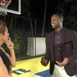 Dwyane Wade Shoots Hoops With Bloomberg's Steph Ruhle