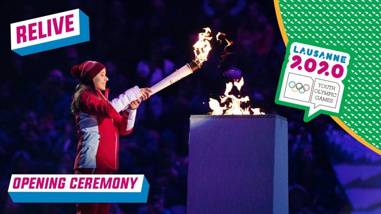 RELIVE - Opening Ceremony | Lausanne 2020