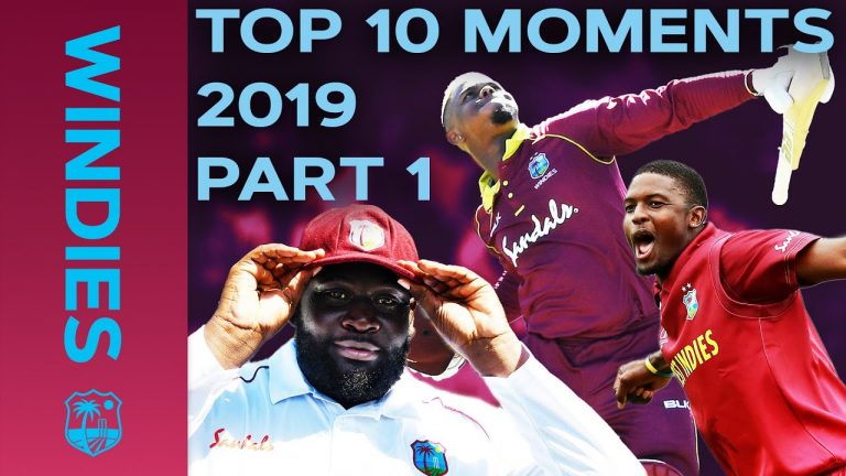 Pakistan Bowled for 105? Cornwall 10-fer? | Top 10 Moments 2019 | Part 1 | Windies Cricket