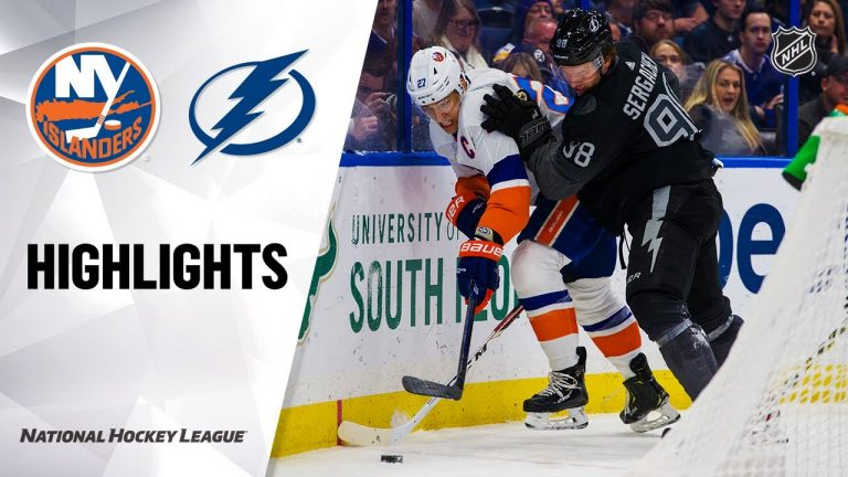 NHL Highlights | Islanders @ Lightning 02/08/20